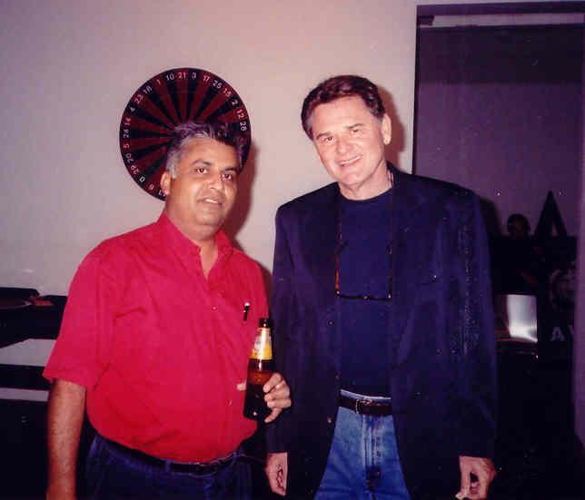 Ali Karim and Edward Wright