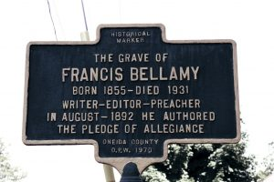Grave marker of Francis Bellamy